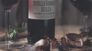 Winelands: Wine and biltong pairing @ Stellenbosch Hills Winery