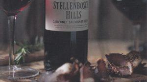 Winelands: Wine and biltong pairing @ Stellenbosch Hills Winery