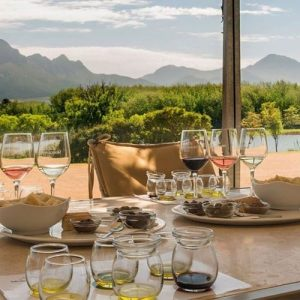 Winelands: Olive oil and wine tasting